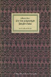 Nr. 878: Beer, Johann:  Der neu ausgefertigte Jungfer-Hobel.