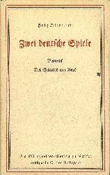 Diettrich, Fritz:  Zwei deutsche Spiele. Beowulf / Der Schmied von Gent.