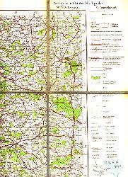Übersichtskarte von Mitteleuropa. Blatt M Schwerin