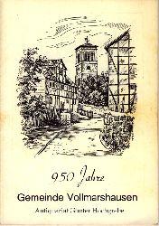 950 Jahre Gemeinde Vollmarshausen. Heimat-Festtage in Vollmarshausen 28. Juni bis 6. Juli 1969.