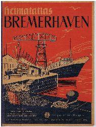 Lüßenhop, Friedrich:  Heimatatlas Bremerhaven.