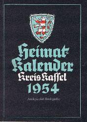 Heimat-Kalender Kreis Kassel 1954.
