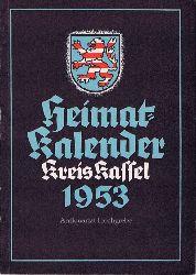 Heimat-Kalender Kreis Kassel 1953.