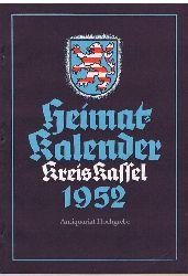 Heimat-Kalender Kreis Kassel 1952.
