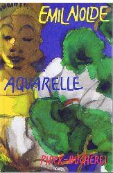 Emil Nolde. Aquarelle.