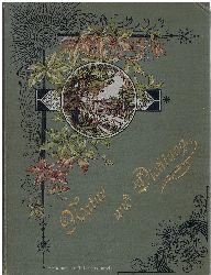 Natur und Dichtung. Deutsche Lieder mit Zeichnungen von Gustav Cloß.