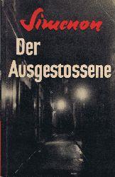 Simenon, Georges:  Der Ausgestossene. Originaltitel Outlaw.