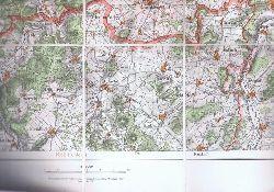 Landkarte Kreis Hersfeld.
