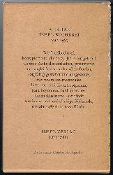 Vogeler, Heinrich / Jean Paul / Otto Julius Bierbaum / Philipp Otto Runge:  Jubiläumskassette 75 Jahre Insel-Bücherei 1912 - 1987: Aucassin und Nicolette / Dir / Giannozzos Seebuch / Gugeline / Von dem Fischer un syner Frau.