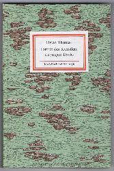 Nr. 1058: Dylan Thomas:  Porträt des Künstlers als junger Dachs [ Zehn Erzählungen ].
