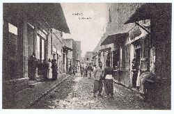 Haifa Marktstraße. Postkarte