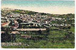 Nazareth von Süden. Vue prise du sud. View from the south.