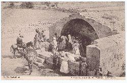 Halladjian, J. H. :  Nazareth. Fons B. V. Mariae. Palestina.