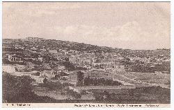 Halladjian, J. H.:  Nazareth visa ab occidente - Regio Latinorum. Palestina.