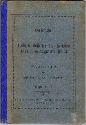 Schober:  Geschichte der heutigen Batterien des Hessischen Feldartillerie-Regiments Nr. 11. Kurz zusammengestellt von Schober, Leutnant im Regiment.