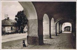 Klimkovice. Podloubi. Königsberg Laubengang (Mährisch-Schlesien).