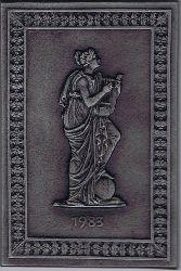 Die Muse Terpsichore. Jahresplakette 1983 der Buderus Aktiengesellschaft.