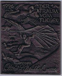 Buderus Jahresplakette 1996. Der Traum vom Fliegen.