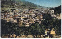 Nablus and Mt. Ebal. Kartennummer 58. Souvenir Postcard.