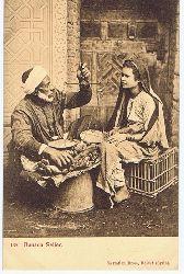 Banana Seller. Seriennummer 139. Carte postale Correspondance.