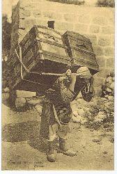 Syria. Porter - Porteur. Carte postale Correspondance No. 253.