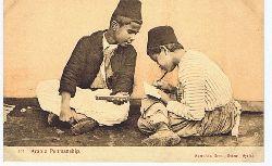 Arabic Penmanship. Carte postale Correspondance. No. 144.