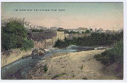 Cartes Postale. Coté du Koubet et du fleuve Abou-Ali Tripoli (Syrie).