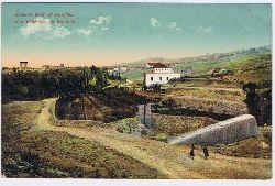 General view of Baalbek. Vue génerale de Baalbek. Carte postale.