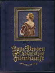 Kalbus, Oskar:  Vom Werden deutscher Filmkunst. 1.Teil: Der stumme Film / Foto von Vivian Gibson