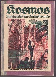Kosmos 1926. Handweiser für Naturfreunde und Zentralblatt für das naturwissenschaftliche Bildungs- und Sammelwesen. 23. Jahrgang, 12 Hefte, komplett.