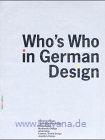 Zec, Peter:  Who`s Who in German Design 2001/2002.