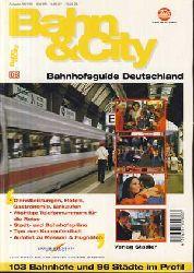 Frei, Helmut:  Bahn und City. Bahnhofsguide Deutschland 1997/98. 103 Bahnhöfe und 96 Städte im Profil .