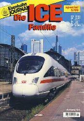 Klee, Wolfgang:  Eisenbahn JOURNAL. Die ICE Familie.