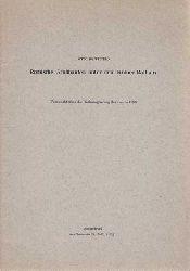 Doppelfeld, Otto:  Römische Großbauten unter dem Kölner Rathaus - Vorbericht über die Rathausgrabung des Jahres 1953. Sonderdruck aus Germania 23