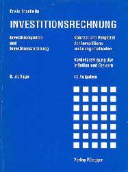 Staehelin, Erwin:  Investitionsrechnung. (Mit Lösungsheft)