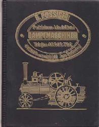 Pössiger, R.:  Präzisions-Modellbau Dampfmaschinen.