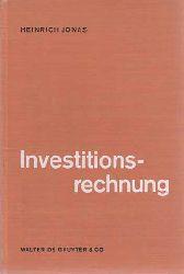 Jonas, Heinrich H.:  Investitionsrechnung.