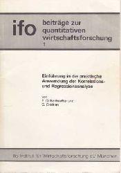 Bonhoeffer, R. O. und G. Goldrian:  Einführung in die praktische Anwendung der Korrelations- und Regressionsanalyse.