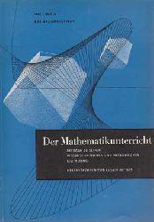 Wolf, Daniel:  Der Mathematikunterricht. 9 Bücher.