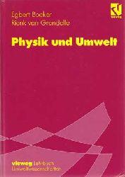 Boeker, Egbert und Rienk van Grondelle:  Physik und Umwelt.