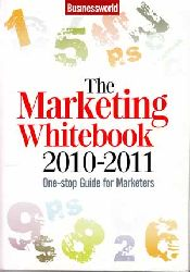 Datta, Prosenjit:  The Marketing White Book 2010-2011. One-stop Guide for Marketers.