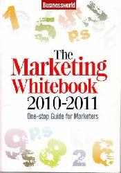 Datta, Prosenjit:  The Marketing White Book 2010-2011. One-stop Guide for Marketers.