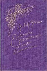 Steiner, Rudolf:  Esoterische Betrachtungen karmischer Zusammenhänge - (III) Dritter Band: Die karmischen Zusammenhänge der anthroposophischen Bewegung.