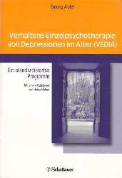 Adler, Georg:  Verhaltens-Einzelpsychotherapie von Depressionen im Alter (VEDIA). Ein standardisiertes Programm.