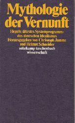 Jamme, Christoph und Helmut Schneider:  Mythologie der Vernunft.