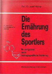 Nöcker, Josef:  Die Ernährung des Sportlers. Fit und gesund durch leistungsspezifische Ernährung.