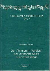 """Hofmann, Dorothea:  Die """"Rhitmorum varietas"""" des Johannes Werlin aus Kloster Seeon."""