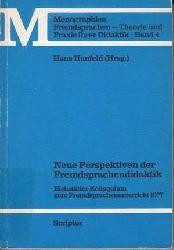 Hunfeld, Hans:  Neue Perspektiven der Fremdsprachendidaktik.