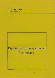 Aloys, Butzkamm:  Psychologisch-therapeutisches Grundwissen.