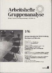 Brandes, H. und Förderverein Gruppentherapie Münster:  Gruppenanalytische Weiterbildung. Konzepte und Kriterien. Arbeitsheft Gruppenanalyse 1 / 96.